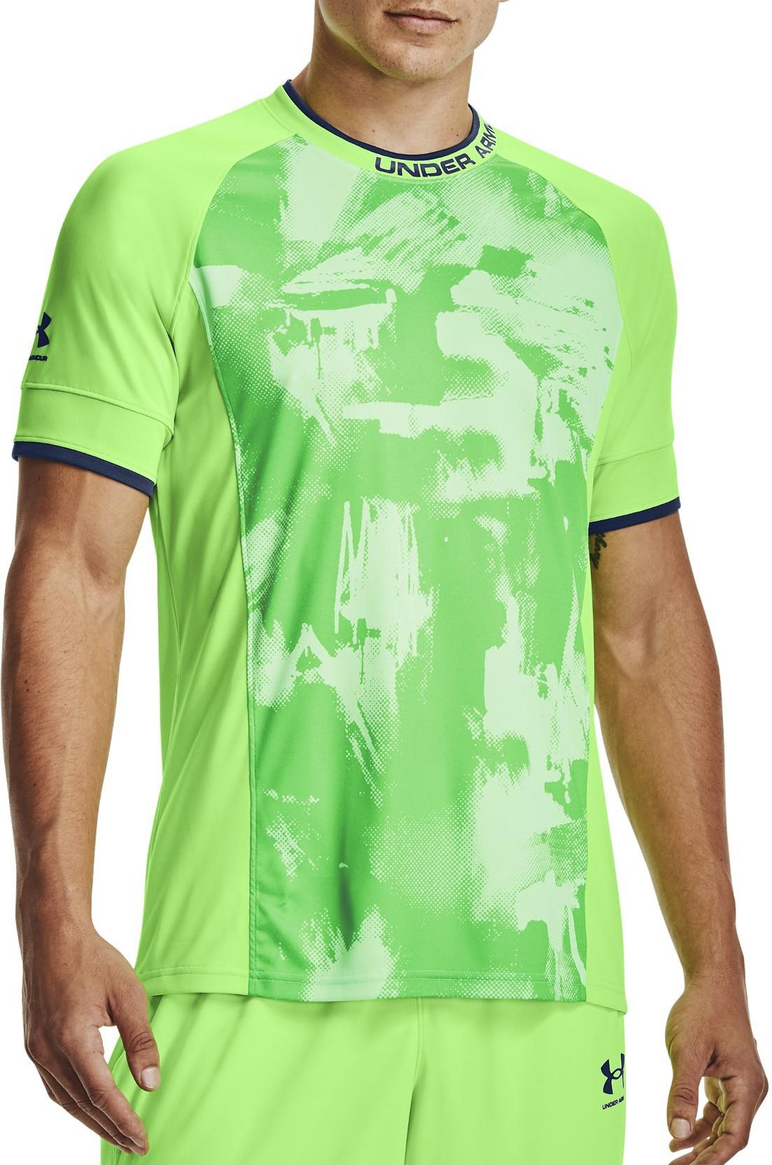 T-shirt Under Armour Challenger III Novelty Top-GRN