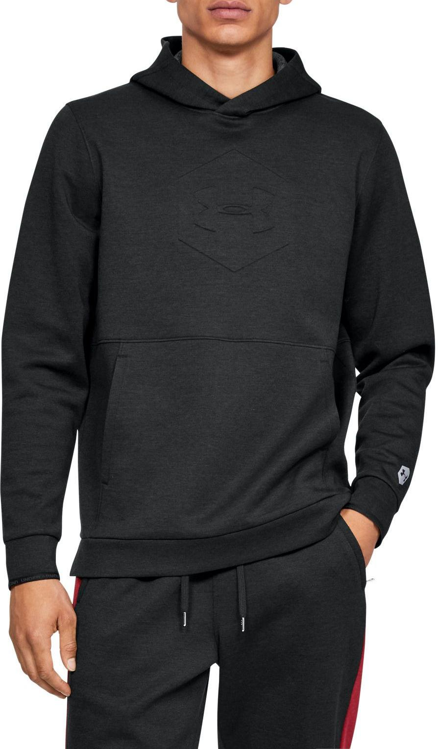Sweatshirt met capuchon Under Armour Athlete Recovery Fleece Graphic Hoodie