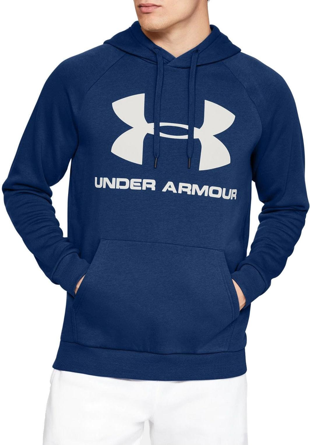 Sweatshirt met capuchon Under Armour RIVAL FLEECE SPORTSTYLE LOGO HOODIE