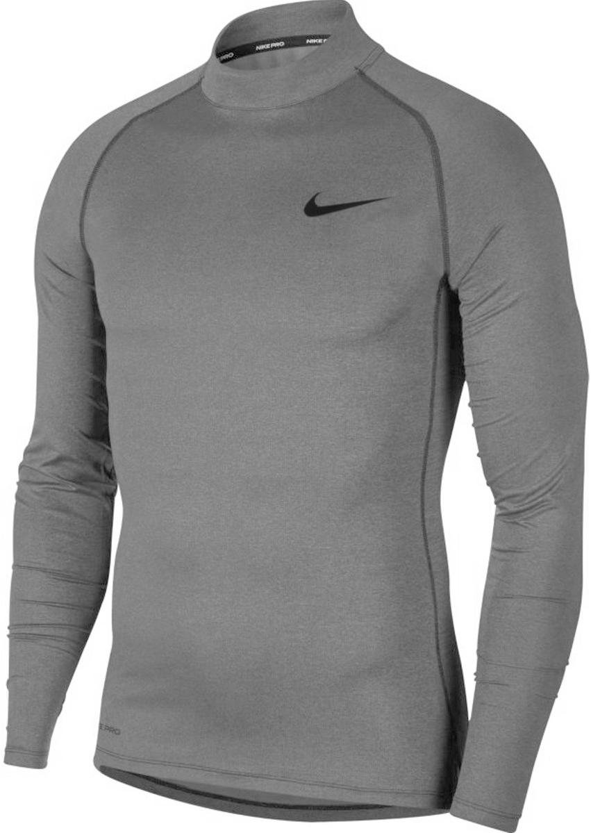 T-shirt met lange mouwen Nike M NP TOP LS TIGHT MOCK
